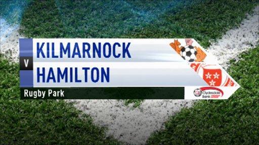 Highlights - Kilmarnock 3-0 Hamilton