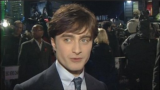 Daniel Radcliffe in Leicester Square