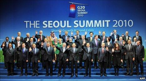 G20 leader at Seoul's summit