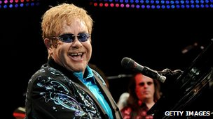 Sir Elton John - file pic