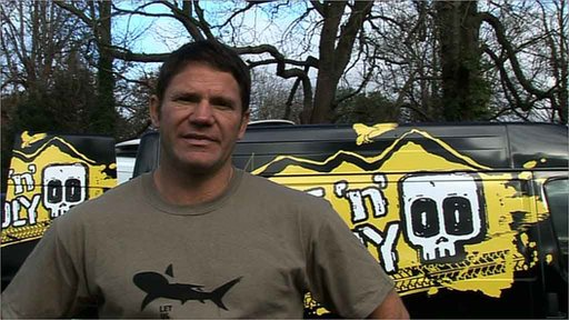 CBBC Live 'n' Deadly presenter Steve Backshall
