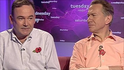 Jon Cruddas and Michael Portillo