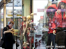 Shoppers in Tverskaya Ulitsa