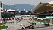 The Malaysian Grand Prix
