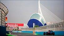 Valencia F1 track