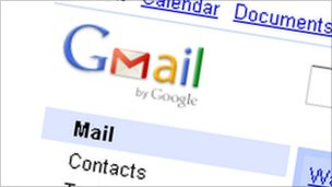 Gmail screen grab