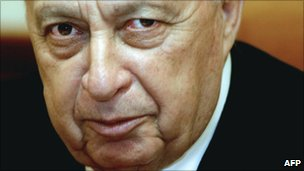 File image (from 15/12/2003) of Ariel Sharon