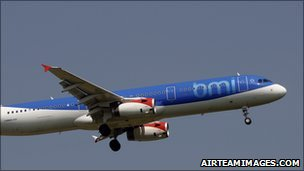 BMI Airbus A321 (file photo)