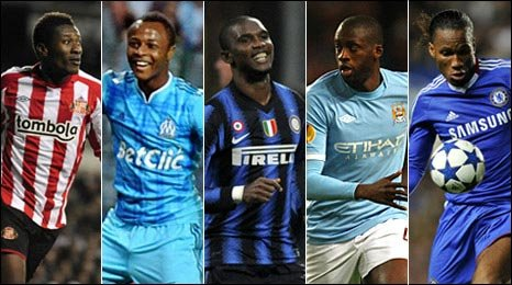 2010 BBC African Footballer of the Year nominees