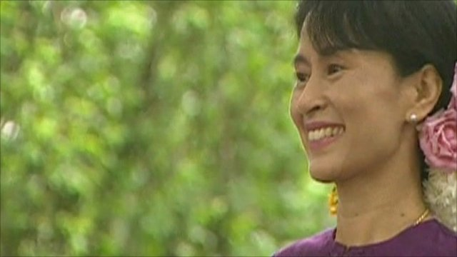 Aung San Suu Kyi - file photo