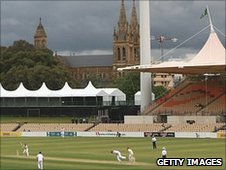 Bad light ended play early in England's tour game against South Australia