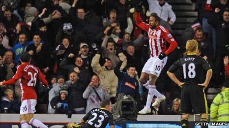 Stoke's Ricardo Fuller
