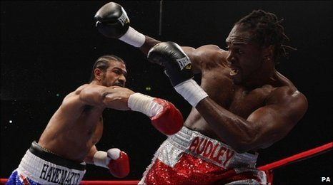 David Haye sees off Audley Harrison