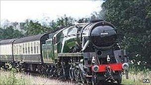 Steam engine Braunton