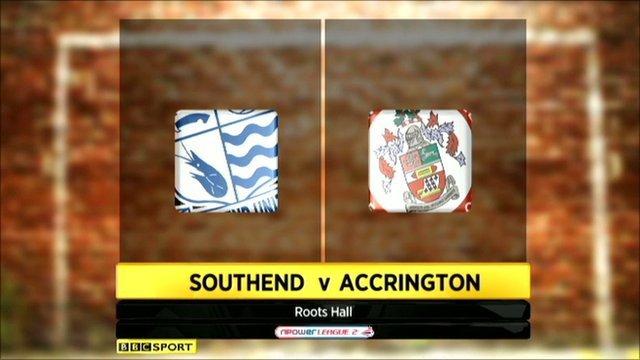 Highlights - Southend 1-1 Accrington