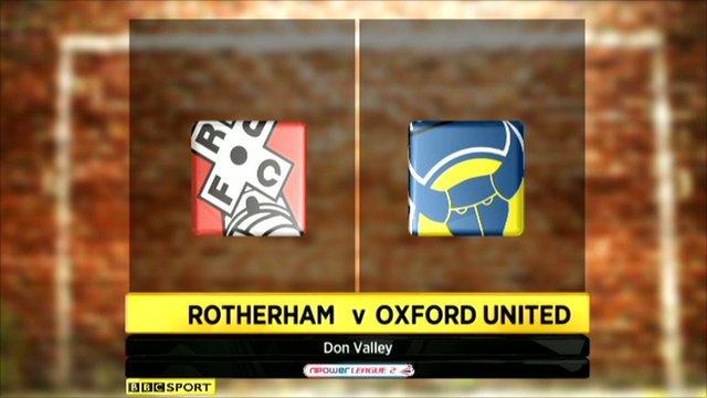 Highlights - Rotherham 2-1 Oxford Utd
