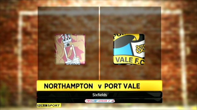 Highlights - Northampton 0-0 Port Vale