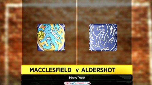 Highlights - Macclesfield 2-0 Aldershot