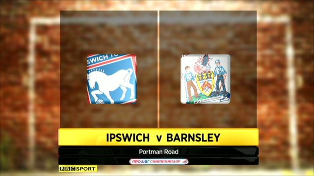 Highlights - Ipswich 1-3 Barnsley