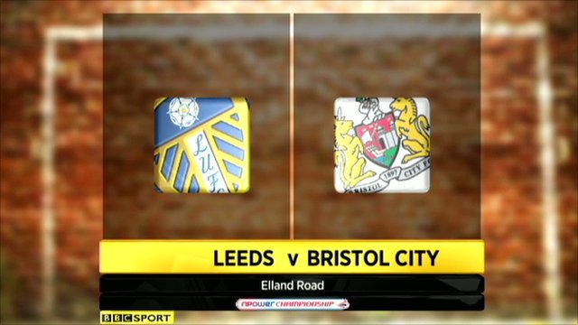 Highlights - Leeds 3-1 Bristol City