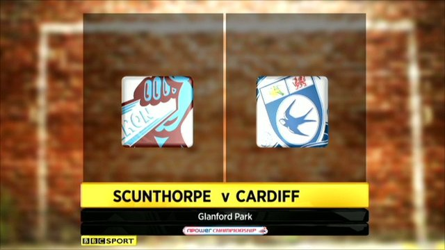 Highlights - Scunthorpe 2-4 Cardiff