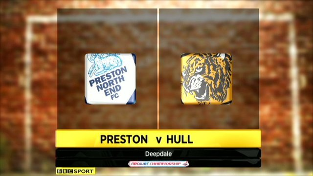 Highlights - Preston 0-2 Hull