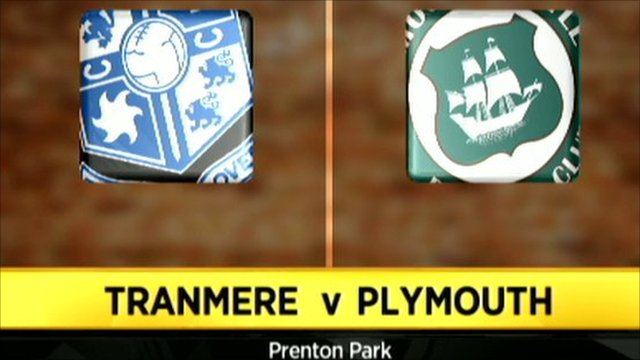 Tranmere 1-0 Plymouth