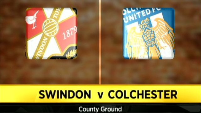 Swindon 2-1 Colchester
