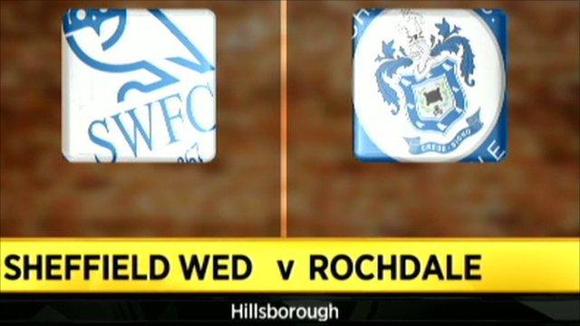 Sheff Wed 2-0 Rochdale