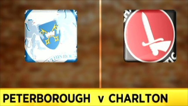 Peterborough 1-5 Charlton