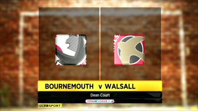 Highlights - Bournemouth 3-0 Walsall