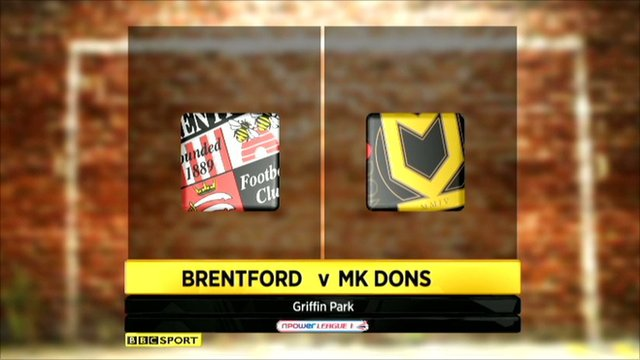 Highlights - Brentford 0-2 MK Dons