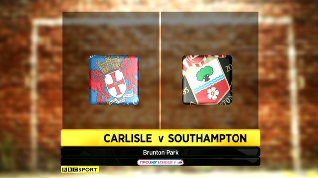 Highlights - Carlisle 3-2 Southampton