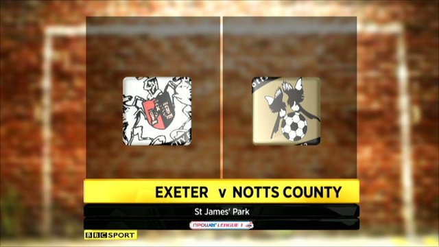 Highlights - Exeter 3-1 Notts County