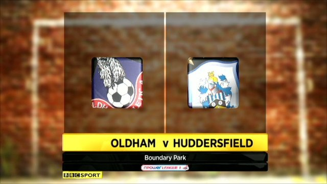 Highlights - Oldham 1-0 Huddersfield