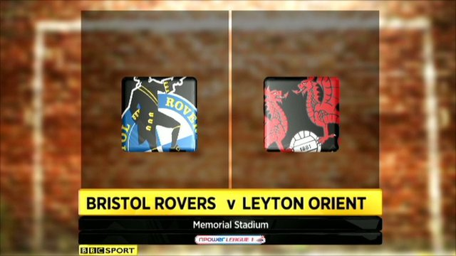 Highlights - Bristol Rovers 0-3 Leyton Orient