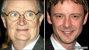 Jim Broadbent and John Simm