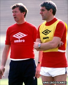 Alex Ferguson and Walter Smith worked together with Scotland in 1986