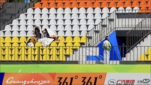 Asian Games hit by empty seats despite sell-outs