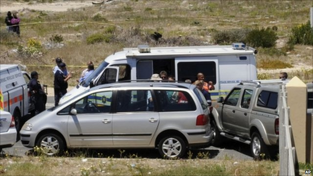 The car the newlyweds were travelling in was discovered in the early hours of Sunday morning