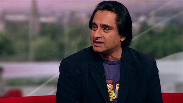 Sanjeev Bhasker on BBC Breakfast