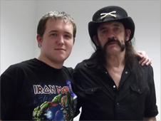 Tom Holmes and Lemmy