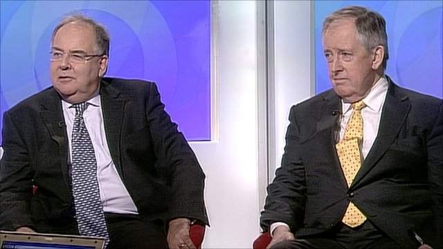 Lord Falconer and Lord McNally