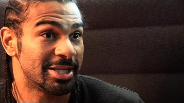 David Haye's in-depth analysis of Audley Harrison fight