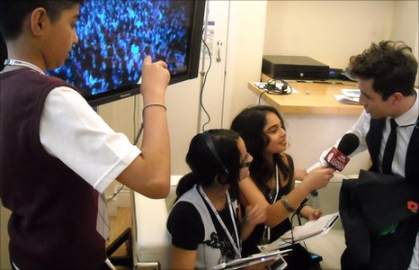 The School Report team interview R1 DJ Nick Grimshaw