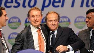 Italian ministers quit Silvio Berlusconi's government