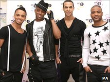 JLS at the R1 Teen Awards
