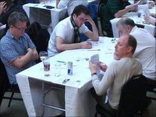 Around 140 quizzers took part in the contest