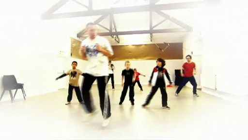 Dancers at urban academy in Bristol