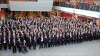 Pupils at Cardinal Hume Catholic School, in Gateshead. Photo: Michael Malone